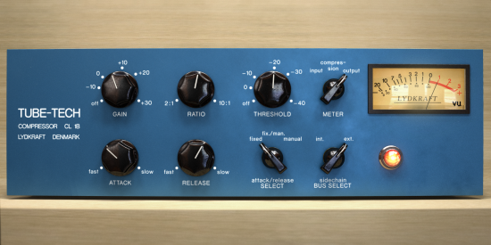 High-End Kompressor mit High-End Preis: Softube Tube-Tech CL1B Plugin
