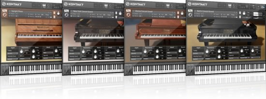 Bild von Native Instrument Kontakt Powered Pianos
