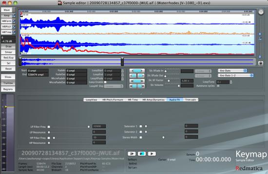 Der Sampleeditor / Wave-Editr