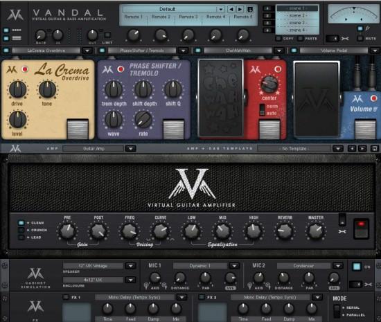 Gitarren- und Bass-Verstärker-Simulation MAGIX Vandal