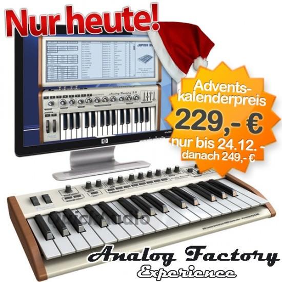 Jetzt 70,- Euro sparen - die Arturia Analog Factory Experience