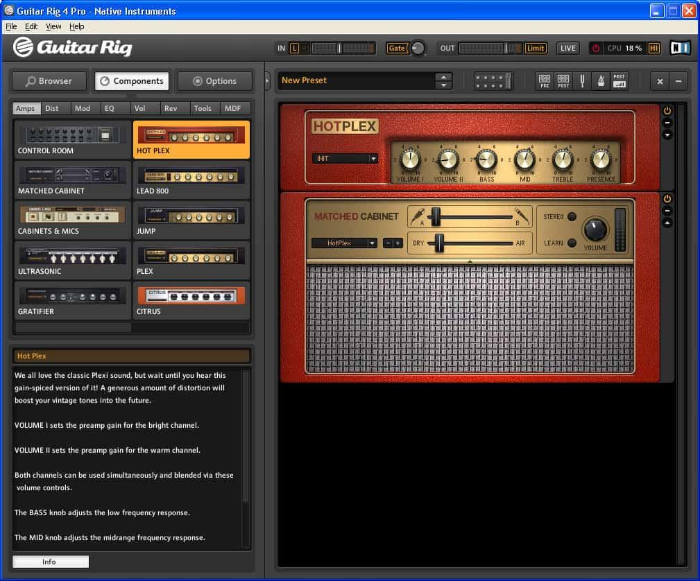 Guitar Rig 4 Kontrol