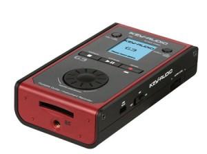 Der ikey Audio G3 tragbarer Instrumenten-Recorder