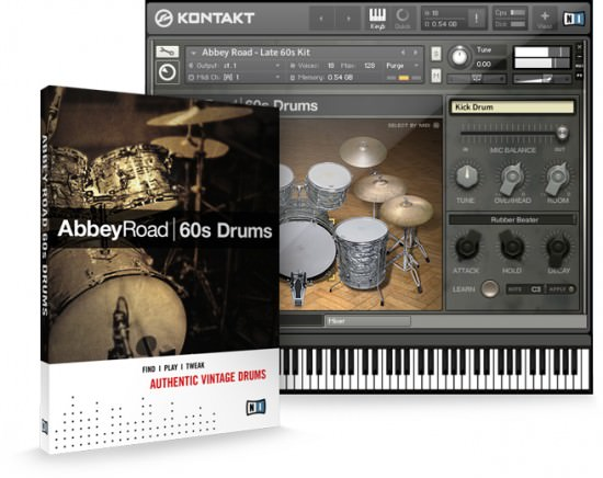 Native Instruments Abbey Road 60s Drums Instrument