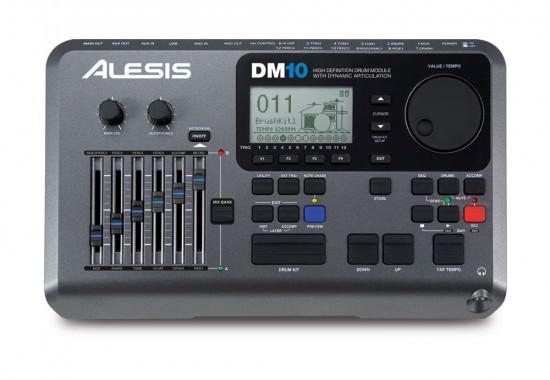 Oberfläche beim Alesis DM10 Drum Modul