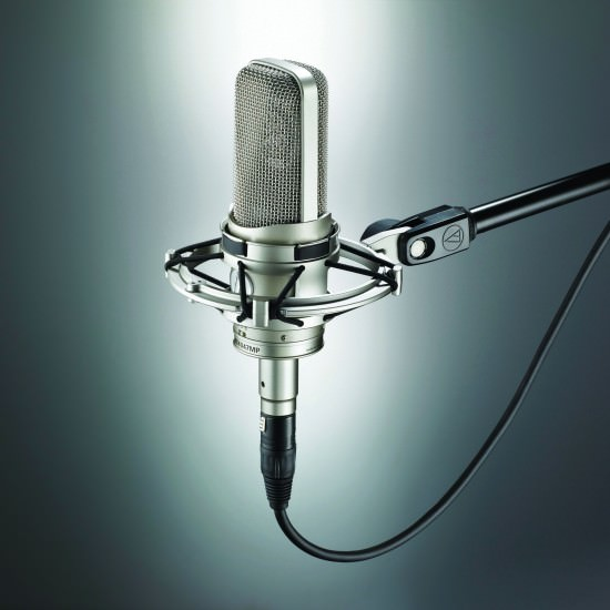 Das Audio Technica AT4047MP mit Shockmount