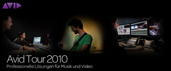 Avid Music Creation Tour 2010
