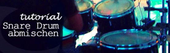 Schlagzeug abmischen, Drums Mixing