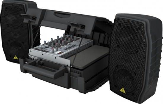 Das kompakte PA-System Behringer Europort EPA150 für Sprecher und Performer
