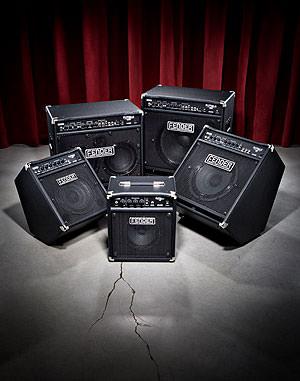 Die neuen Modelle Fender Rumble 15, 30, 75, 150, 350