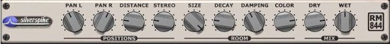 Roommachine 844 free VST Plugin Hall Reverb Room
