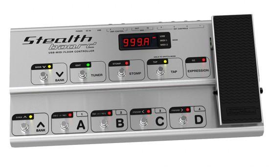 Bild von StealthBoard USB MIDI Pedal von IK Multimediaa