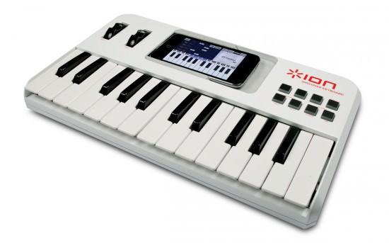 ION iDiscover MIDI Keyboard für das iPhone und den iPod