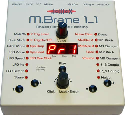 Bild des Jomox Mbrane11 Percussion Synthesizers