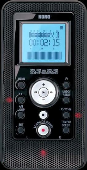Der Korg Sound On Sound digitaler Recorder wurde auf der NAMM vorgestellt