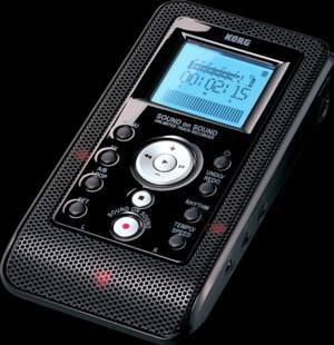 Ermöglicht unbegrenzte Overdubs auf separaten Spuren: Korg Sound On Sound Digitaler Recorder
