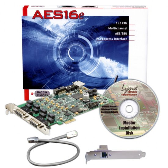 Das Lynx AES16e-50 PCI Express Audio Interface