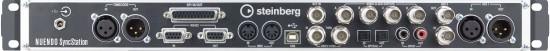 Die Rückseite der Steinberg Nuendo SyncStation