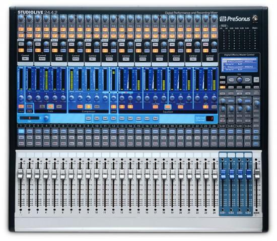 PreSonus StudioLive 24.4.2 Digitaler Mixer Mischpult