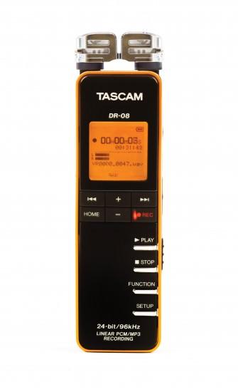 Portabler Digital-Recorder TASCAM DR-08
