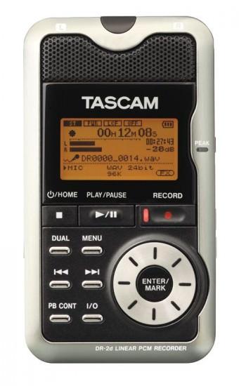 TASCAM DR-2D portabler Recorder
