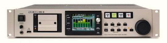 TASCAM HS-8 8-Spur Recorder für professionelle Aufnahmen