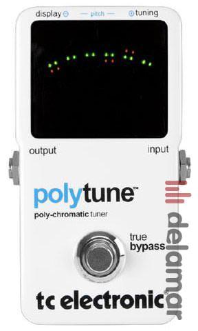 TC Electronic PolyTune: Mehrstimmiger Tuner für Gitarre und Bass