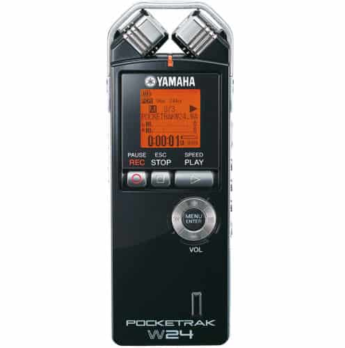 Yamaha Pocketrak W24 kompatker Fieldrecorder für MP3 und WAV