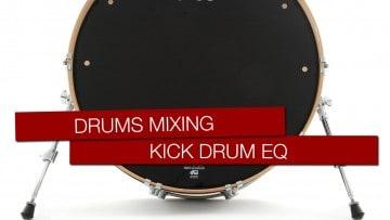 Schlagzeug abmischen Kick Drum