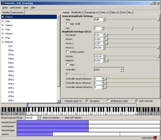 Free Sampler Linuxsampler: Kostenlos für Mac und PC