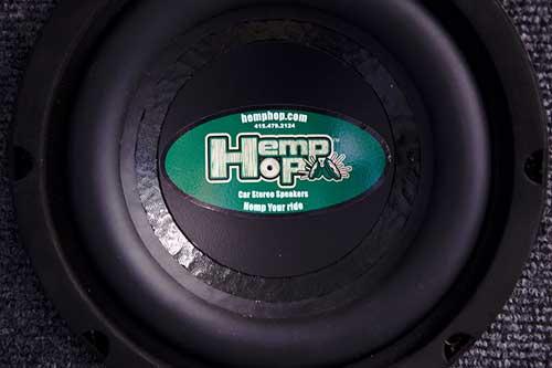ToneTubby HempHop Lautsprecher mit Membran aus Hanf