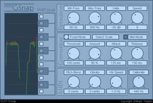 GSnap: Kostenloses Klon von AutoTune mit free Download