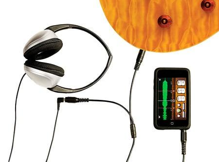 PRS GuitarBud Aufnahmen auf Apple iPhone oder iPod touch