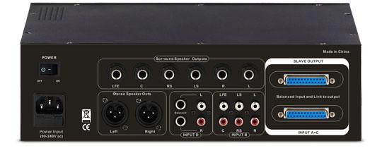 SM Pro Audio MPatch 5.1 Monitor Controller für Surround