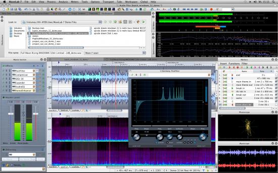Steinberg Wavelab 7 Audio Editing & Mastering Suite