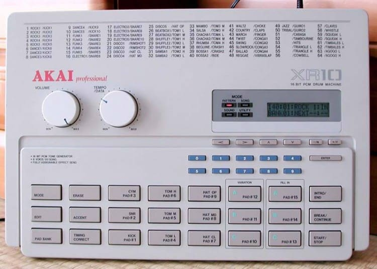 Free Samples Sample Pack Drum Machine Akai XR-10