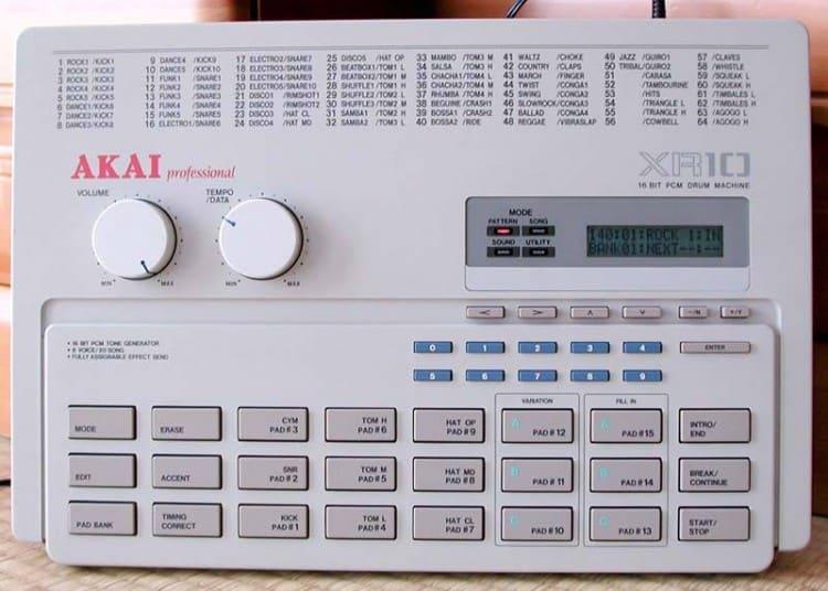Free Samples Sample Pack Drum Machine Akai XR-10
