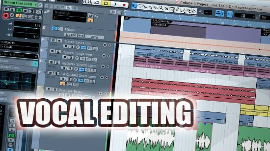Vocal Editing Video Workshop