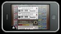 iPhone ReBirth Roland TB-303 TR-808 TR-909