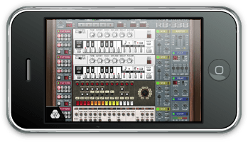 iPhone ReBirth Roland TB-303 TR-808 TR-909