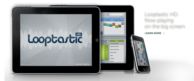 DJ-Software für Apple iPad: Looptastic HD