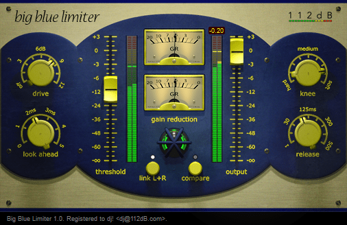 112dB Big Blue Limiter