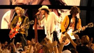 Passende Bühnenoutfits bei Aerosmith