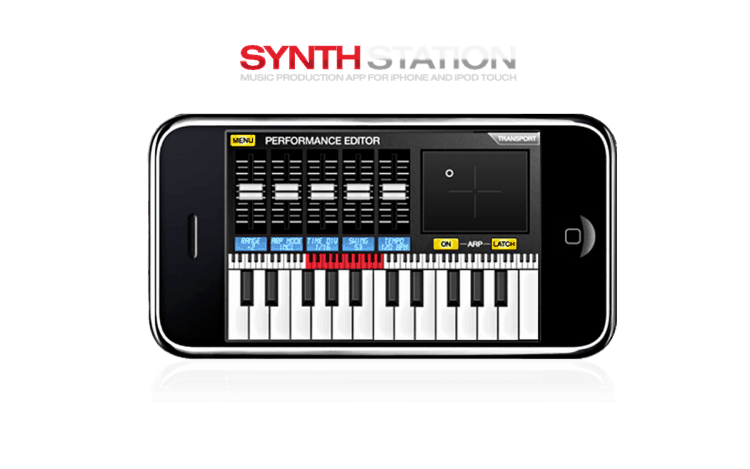 Akai SynthStation App für iPod touch und iPhone