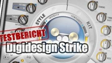 Digidesign Instrument Expansion Pack Strike Testbericht