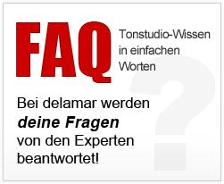 FAQ Tonstudio Wissen Homerecording Musikproduktion