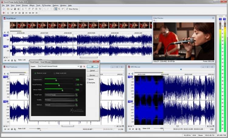 Sony Sound Forge Audio Studio 10 Audio Editor für Windows