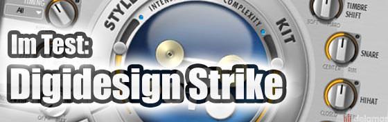 Der Testbericht: Digidesign Strike aus dem Instrument Expansion Pack