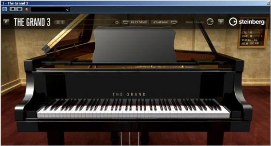 Klaviersimulation Steinberg The Grand 3 Testbericht