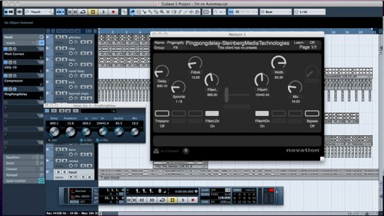 Novation Automap 3.5 Integration von Cubase und Nuendo